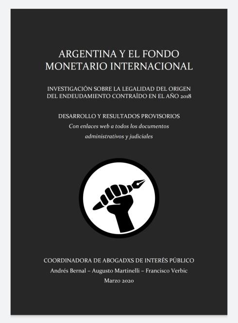 Portada informe CAIP - FMI